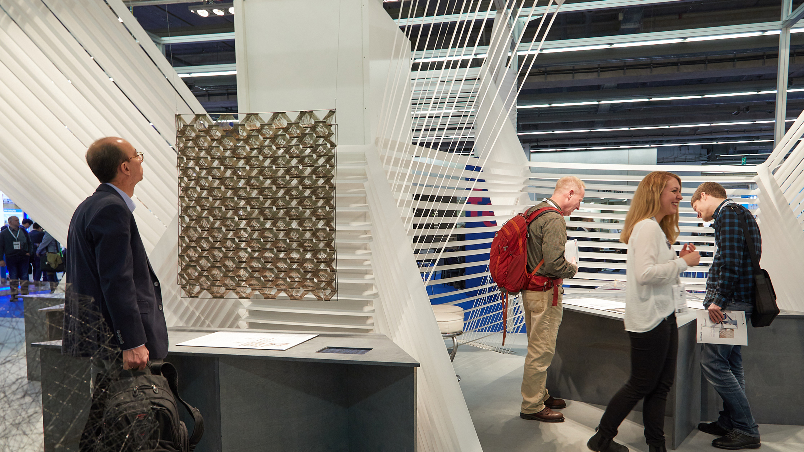 Competition for textile architecture. Techtextil will be giving students and young professionals prizes for their ideas
