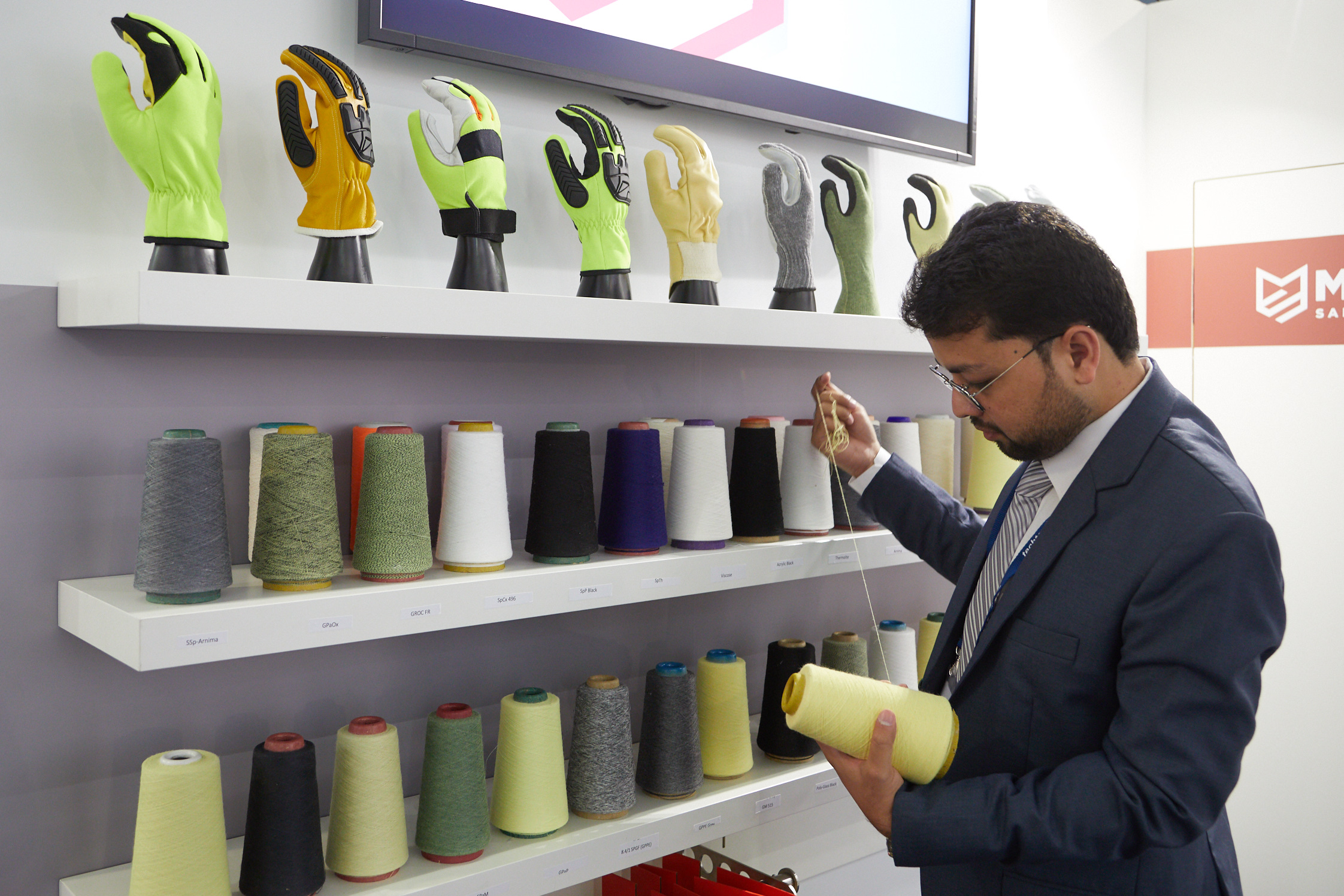 Protech: Innovative yarns for many kind of protection for gloves