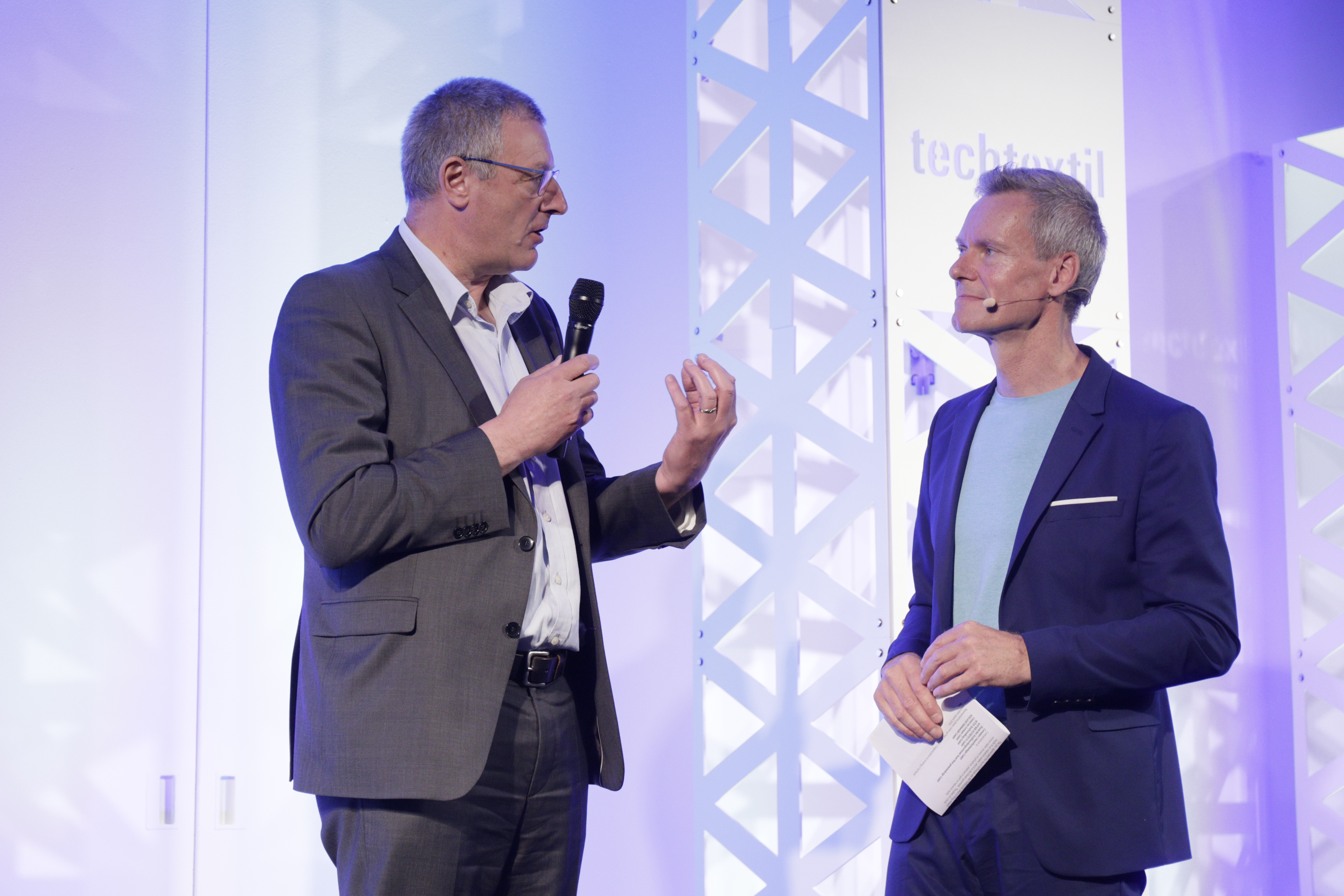 Techtextil Innovationspreis Dr. Jan Laperre, Ingolf Baur