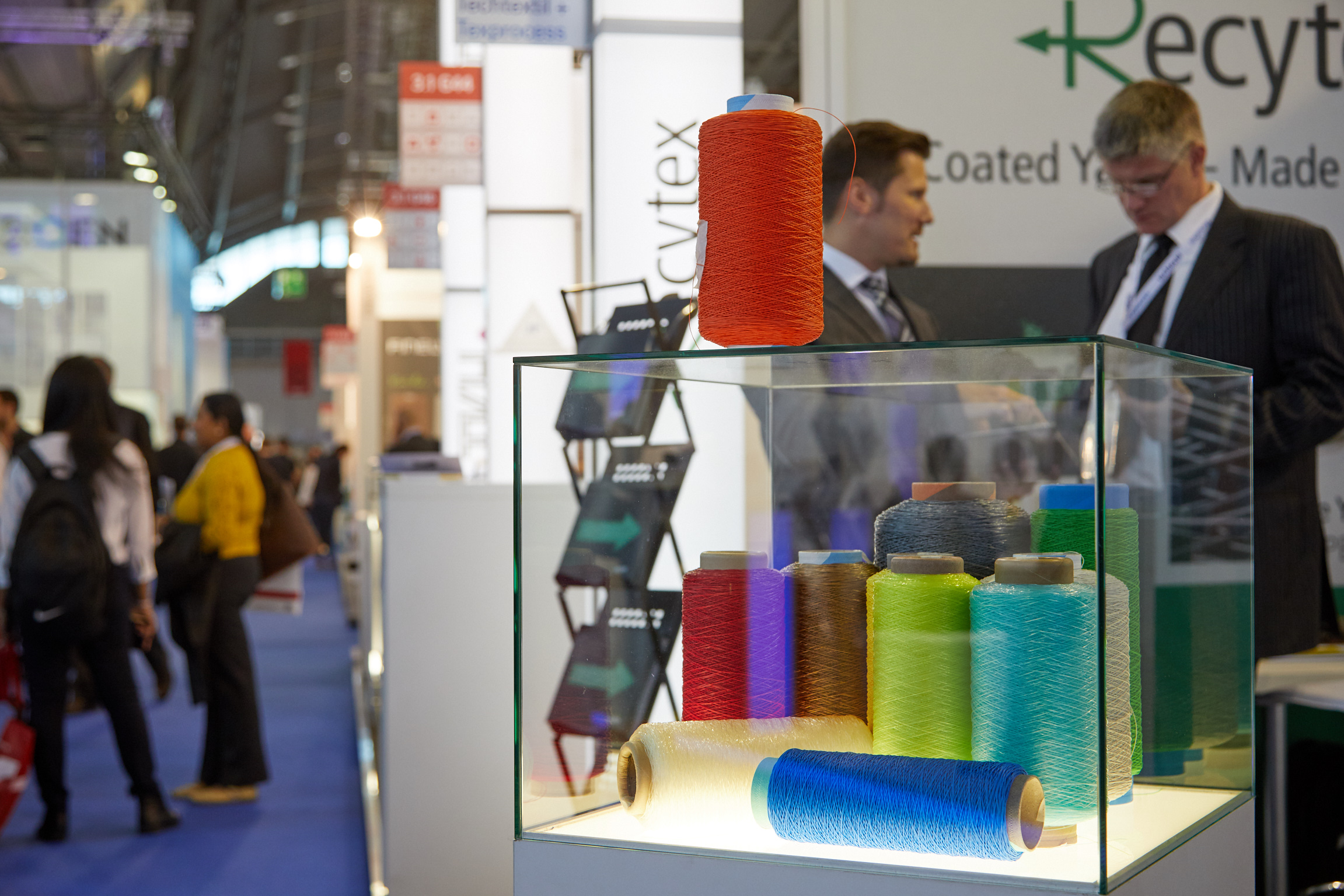 Techtextil and Texprocess: only limited exhibition space still available.