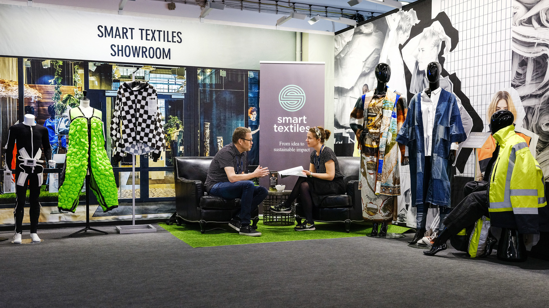 Keyvisual Techtextil 2019