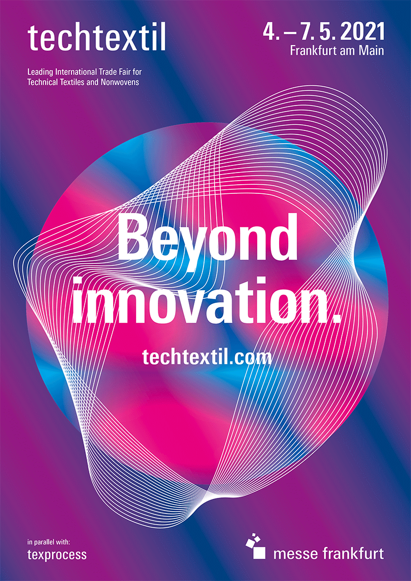Techtextil 2021 Keyvisual